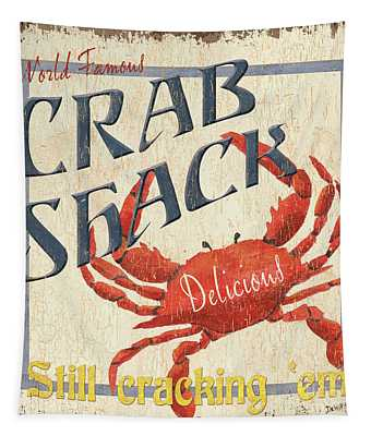 Crab Shack Tapestry