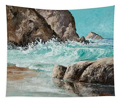 Crashing Waves Tapestry