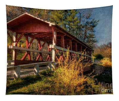 Crossing Shawnee Creek Tapestry