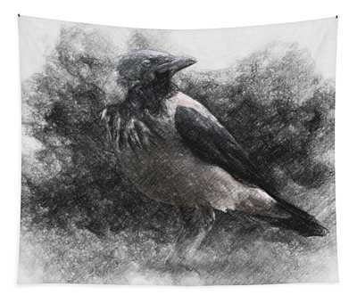 Crow Tapestry
