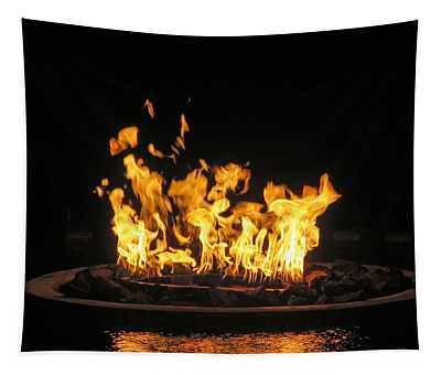 Crown Of Fire Tapestry