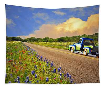 Crusin' The Hill Country In Spring Tapestry