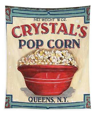 Crystal's Popcorn Tapestry