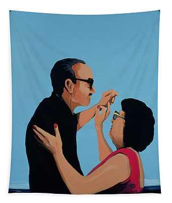 Cuban Portrait No.12, 1996 Tapestry