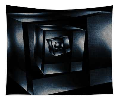 Cube In Cube Tapestry
