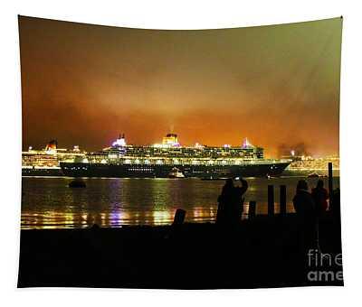Cunard's 3 Queens Tapestry