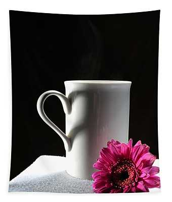 Cup Of Love Tapestry