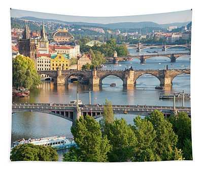 Czech Republic, Prague - Bridges Tapestry