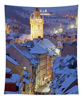 Czech Republic, Prague - Old Town Hall Tapestry
