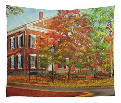 Dahlonega's Gold Museum In Autumn Tapestry