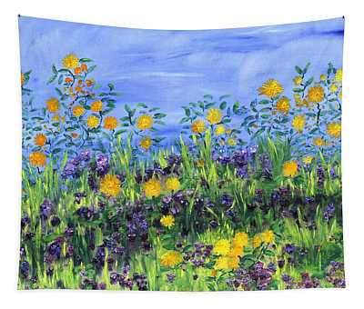 Daisy Days Tapestry