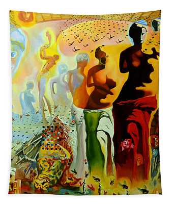 Dali Oil Painting Reproduction - The Hallucinogenic Toreador Tapestry