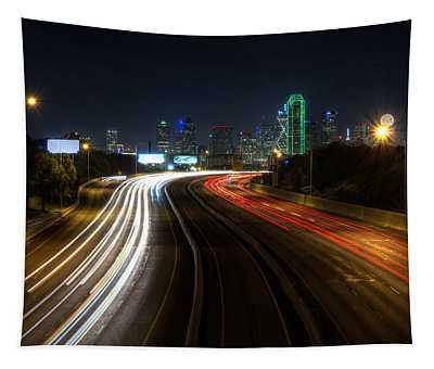 Dallas Night Light Tapestry