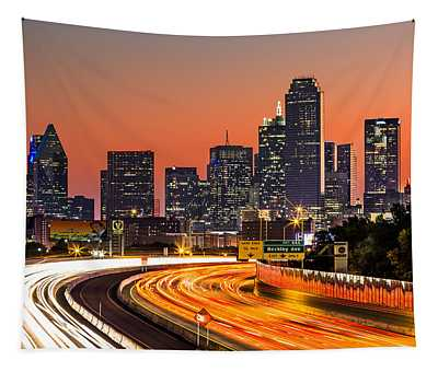 Dallas Sunrise Tapestry