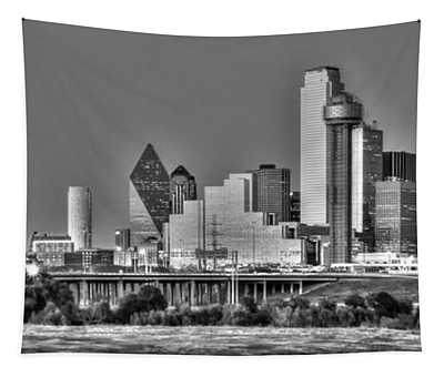 Dallas The New Gotham City  Tapestry