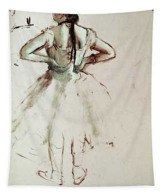 Dancer Viewed From The Back Tapestry