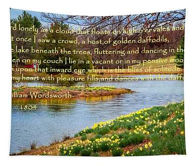 Dances With The Daffodils Tapestry