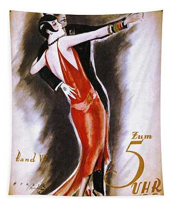 Dancing The Tango Tapestry