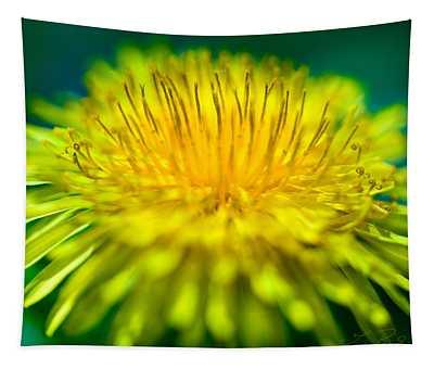 Dandelion Bloom  Tapestry