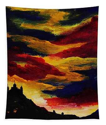 Dark Times Tapestry