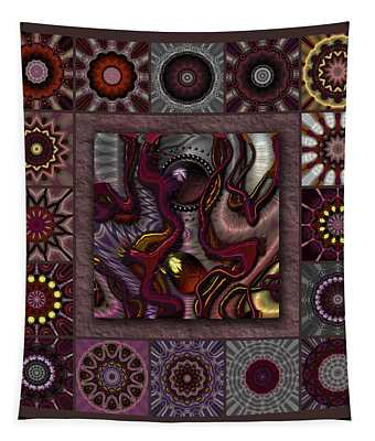 Darkened Country Redux Tapestry