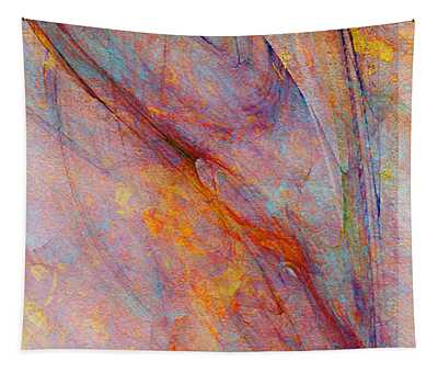 Dash Of Spring - Abstract Art Tapestry