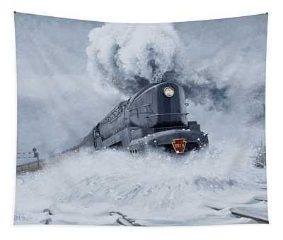 Dashing Through The Snow Tapestry