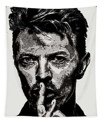 David Bowie - Pencil Tapestry