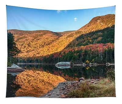 Dawn Over Kinsman Notch Tapestry