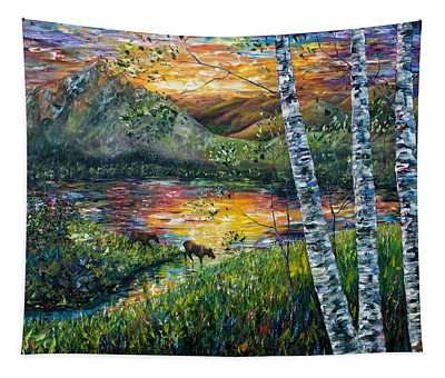 Dawn's Early Light Tapestry