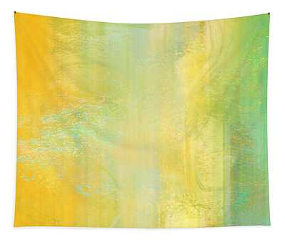 Day Bliss - Abstract Art Tapestry