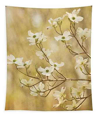 Days Of Dogwoods Tapestry