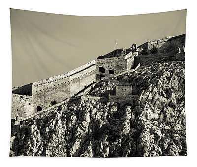 Daytime Palamidi Fortress  Tapestry