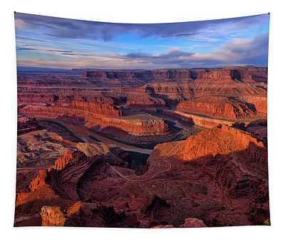 Dead Horse Point Sunrise Tapestry