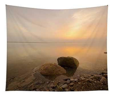 Dead Sea Sunrise Tapestry
