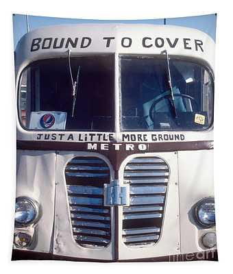 Dead Tour Bus Tapestry