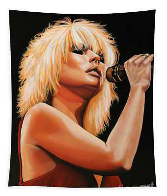 Deborah Harry Or Blondie 2 Tapestry