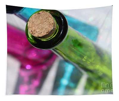 Decorative Bottles Tapestry