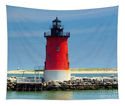 Delaware Breakwater Lighthouse Tapestry