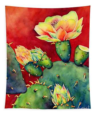 Desert Bloom Tapestry