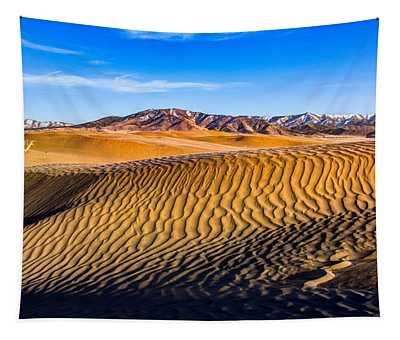 Desert Lines Tapestry