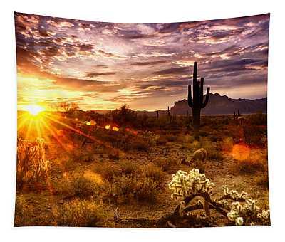 Desert Sunshine  Tapestry