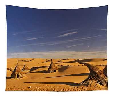 Desert Village Tapestry