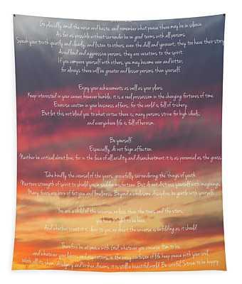 Desiderata Sky 2 Tapestry