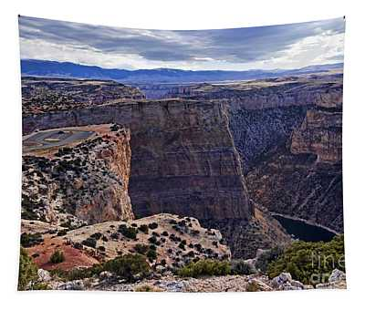 Devil's Overlook Bighorn Canyon National Recreation Area Tapestry
