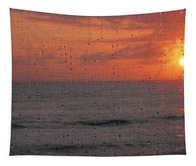 Dew Drop Sunrise Tapestry