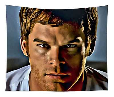 Dexter Portrait Tapestry