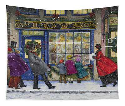 The Toy Shop Tapestry