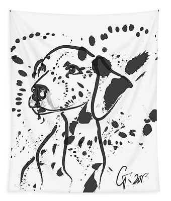 Dog Spot Tapestry