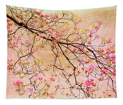 Dogwood  Canvas Tapestry